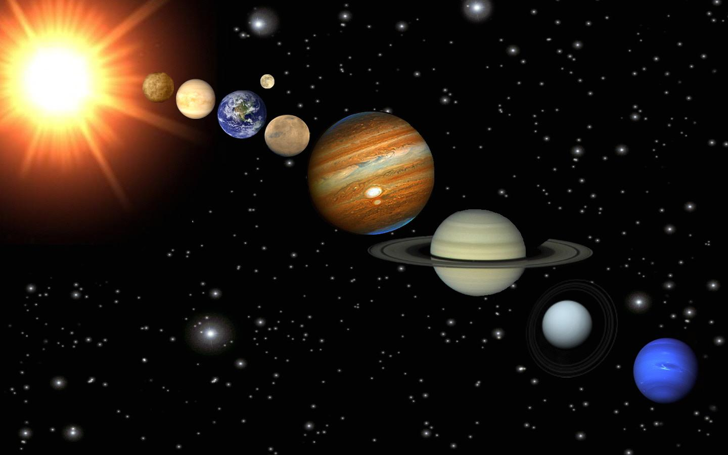 planets in order